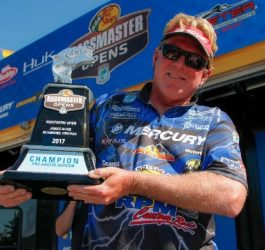 Morris Wins James River Bassmaster Northern Open