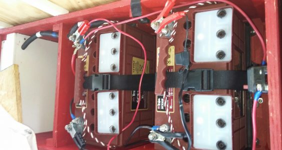 Maintain Fishing Boat Batteries