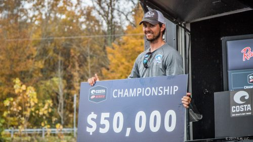Beavers wins FLW Series Championship on Kentucky Lake